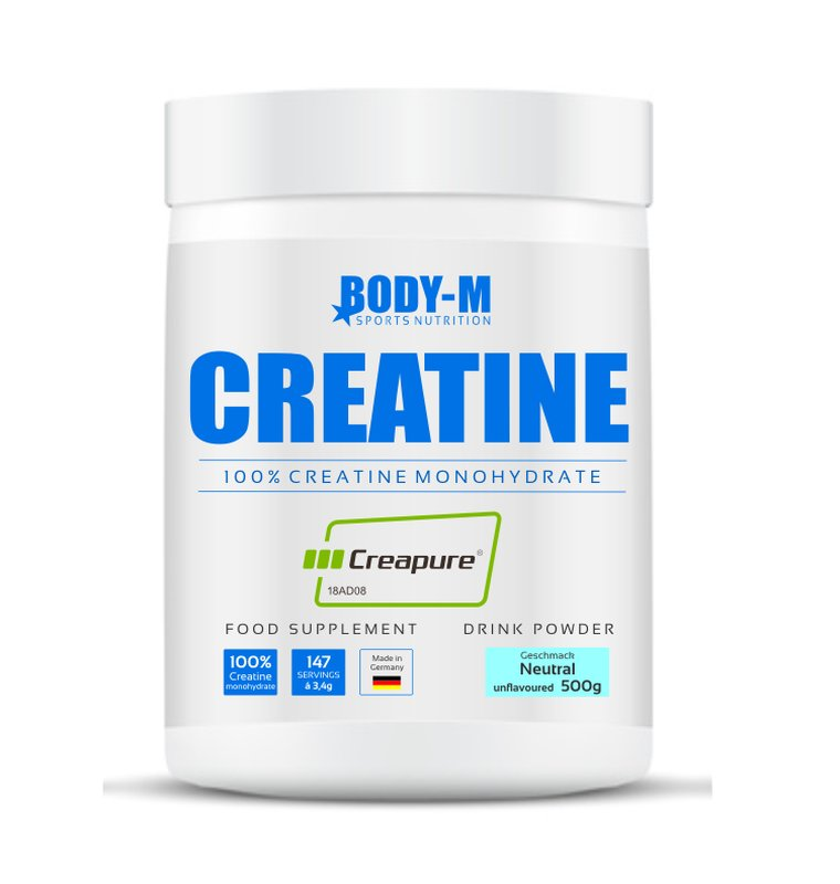 BODY-M Pure Creatine Monohydrate 500g