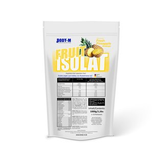 BODY-M Fruit Isolat 1000g Beutel