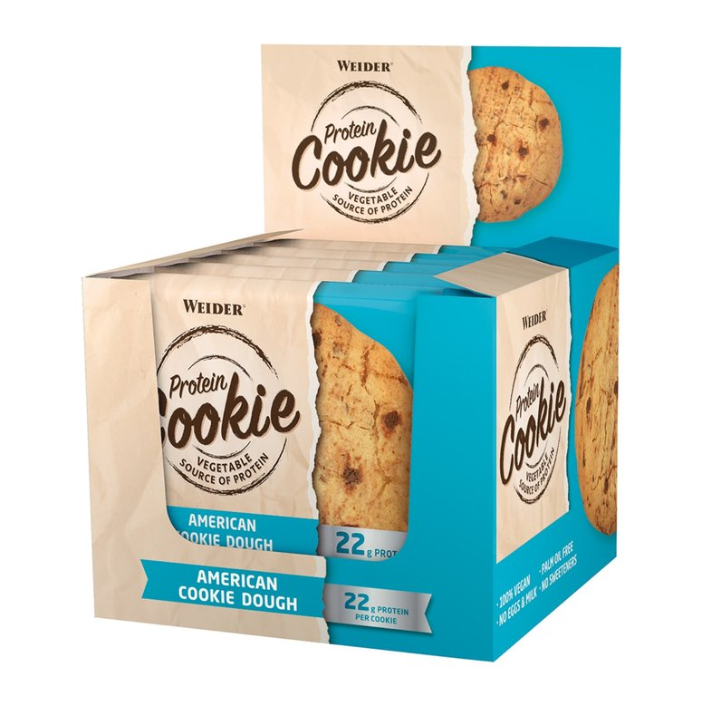 Weider Protein Cookie 12 x 90g All American Cookie Dough