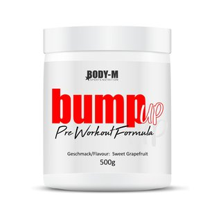 BODY-M bump up Pre Workout 500g