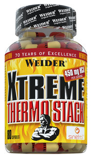Weider X-Treme Thermo Stack 80 Kapseln