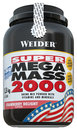 Weider Super Mega Mass 2000 1,5kg Strawberry Delight