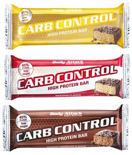 Body Attack Carb Control 100g Riegel